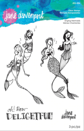 Spellbinders Singing Mermaids Clear Stamps (JDS-056)