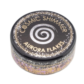 Cosmic Shimmer Aurora Flakes Morning Blush 50ml