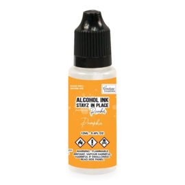 Couture Creations Stayz in Place Alcohol Ink Pearlescent Pumpkin (12ml) Reinker (CO728215)