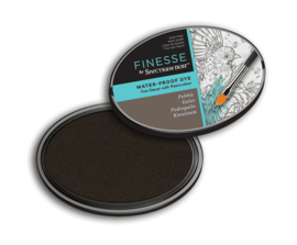 Spectrum Noir ovale  Inktkussen - Finesse Water-proof - Pebble