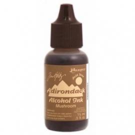 Alcohol Ink Mushroom