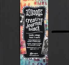 DYLUSIONS™ CREATIVE JOURNAL SQUARE - BLACK 22 x 22 cm DYJ45557