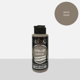 Cadence Hybride acrylverf (semi mat) Mink - grijs 01 001 0059 0120 120 ml 301200/0059