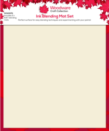 Woodware Ink Blending Mat pk 2 6″ x 6″  15 x 15 cm
