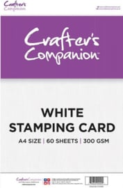 Crafter's Companion Crafter's Companion White Stamping Card A4 (CC-STCARD)