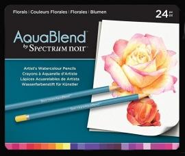 Spectrum noir Aquablend potloden Florals SPECAB-FLO24