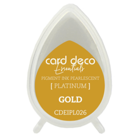 Card Deco Essentials Fast-Drying Pigment Ink Pearlescent Gold  CDEIPL026