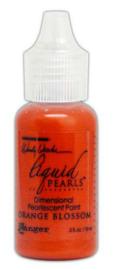 Ranger Make Art Liquid Pearls 18ml - Orange Blossom LPD72034 Wendy Vecchi