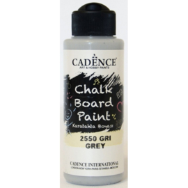 Cadence Chalkboard verf Grijs 01 006 2550 0120 120 ml