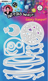 ABM-OOTW-CD84 ABM Cutting & Emb. Die Galaxy transport Out Of This World nr.84