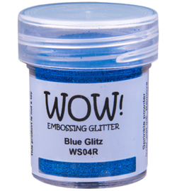 Wow! Embossing Glitters Blue Glitz WS04R 15ml / Regular