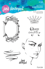 Spellbinders Queen of Everything Clear Stamps (JDS-059)