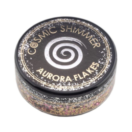 Cosmic Shimmer Aurora Flakes Golden Rose 50ml