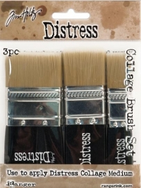 Distress Collage Brush 3pack TDA50896