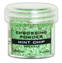 Ranger Embossing Speckle Powder 34ml - Mint Chip EPJ68679