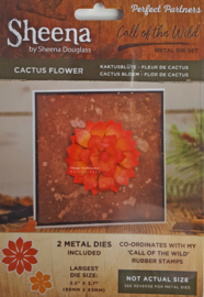 Perfect Partner Call of the Wild - die cut - Cactus Flower