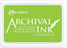 Ranger - Archival Ink Pad - Vivid Chartreuse AIP52531