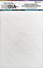 Ranger Watercolor Paper 7.5x11 10 vel 440gr MDJ76629 Dina Wakley