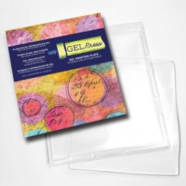 Gel Press Printing Plate - rechthoek 10804 30,5x35,6cm