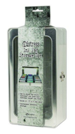 Tim Holtz Distress Pad Storage Tin - 3x3 Pads (leeg) TDA68075