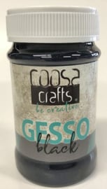COOSA Crafts Gesso Black - 100 ml COC-018