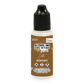 Couture Creations Stayz in Place Alcohol Ink Pearlescent Latte (12ml) Reinker (CO728210)