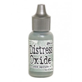 Distress Oxide Re-inker Iced Spruce TDR57130