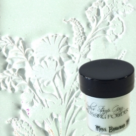 Lindy's Stamp Gang Merci Beaucoup mint embossing powder ep-079