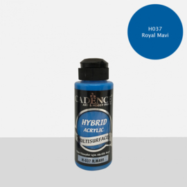 Cadence Hybride acrylverf (semi mat)Royal Blue 01 001 0037 0120 120 ml