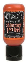 Ranger Dylusions Shimmer Paint Flip Cap Bottle - Tangerine Dream DYU74472 Dyan Reaveley