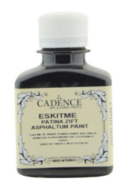 Cadence patina Asphaltum zwart 01 107 0001 0100 100ml