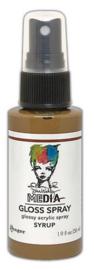 Ranger Dina Wakley MEdia Gloss spray 59 ml - Syrup MDO76537 Dina Wakley