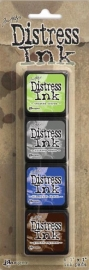Mini Distress Pad Kit 14