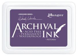 Ranger Archival Ink pad - Petunia AID74021 Wendy Vecchi