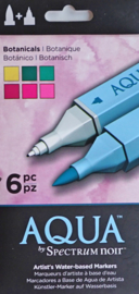 Spectrum Noir Markers Aqua 6 in a suit - Botanicals (Botanical)