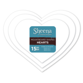 Sheena Douglass Mount Board  - Harten SD-MBS-HEA