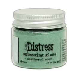 Ranger Distress Embossing Glaze Weathered Wood TDE71051 Tim Holtz