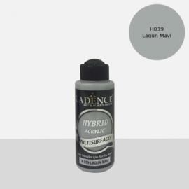Cadence Hybride acrylverf (semi mat) Lagoon blue 01 001 0039 0120 120 ml 301200/0039