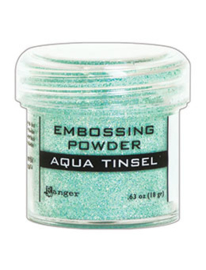 Ranger Embossing Powder 34ml - EP - AQUA TINSEL EPJ60413