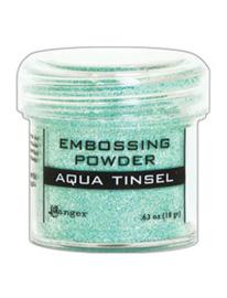 Ranger Embossing Powder 34ml - EP - AQUA TINSEL EPJ60413