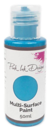 Pink Ink Multi Surface Paint Atlantic Blue