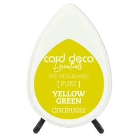 Card Deco Essentials Fade-Resistant Dye Ink Yellow Green  CDEIPU022