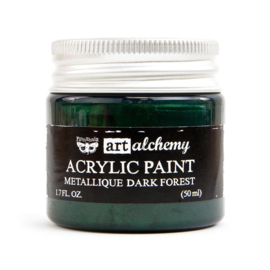 Prima Marketing Art Alchemy Acrylic Paint Metallique Dark Forest (964481)