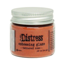 Ranger Distress Embossing Glaze Tattered Rose TDE71020 Tim Holtz