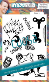 COOSA Crafts - Clearstamps by Soraya - Collage 1