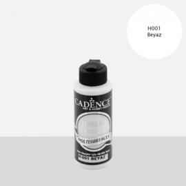Cadence Hybride acrylverf (semi mat) Wit 01 001 0001 0120 120 ml  301200/0001