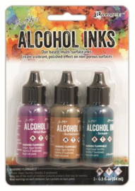 Ranger Alcohol Ink Kits Nature Walk 3x15 ml TIM19787 Tim Holtz