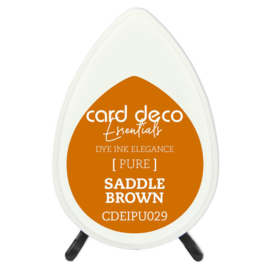Card Deco Essentials Fade-Resistant Dye Ink Saddle Brown CDEIPU029