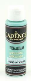 Cadence Premium acrylverf (semi mat) Mint green 01 003 5050 0070 70 ml
