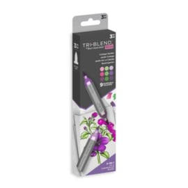 Spectrum Noir-TriBlend-Brush Marker – Cottage Garden